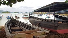 Fishing Boats Langkawi. Royalty Free Stock Images