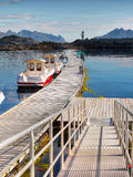 Fishing Boats, Lofoten Stock Photos