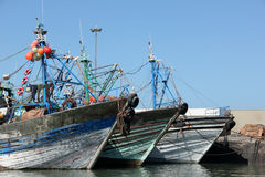 Fishing boats Royalty Free Stock Photos