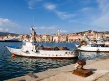 Fishing boats moored Royalty Free Stock Photography