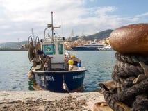 Fishing boats moored Royalty Free Stock Photo