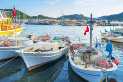 The fishing boats Royalty Free Stock Image