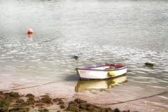 Fishing boats. Moored on the shore of the sea Royalty Free Stock Images