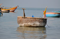 Fishing boats in Mui Ne, Vietnam Royalty Free Stock Photos