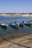 Fishing boats. Near Mirbat, Oman Royalty Free Stock Photos
