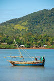 Fishing boats of nosy be Stock Photo