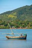 Fishing boats of nosy be Stock Photo