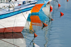 Fishing boats in Old Jaffa, Israel. Royalty Free Stock Image