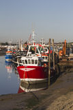 Fishing Boats at Old Leigh, Essex, England Royalty Free Stock Images
