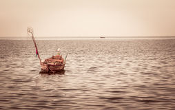 Fishing boats out fishing Royalty Free Stock Image