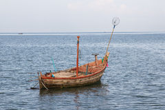 Fishing boats out fishing Royalty Free Stock Images