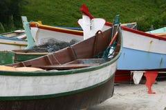 Fishing boats. Photo of Fishing boats - Beach scene stock image