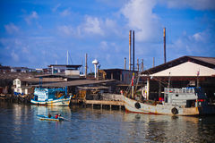 Fishing Boats at Phuket island Royalty Free Stock Photography