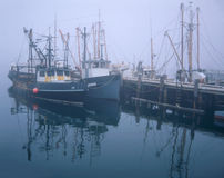 Fishing Boats And Pier Royalty Free Stock Image