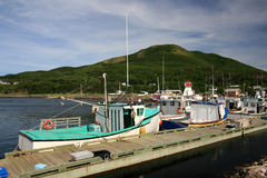 Fishing Boats in Pleasant Bay Stock Image