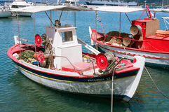 Fishing Boats in Poros, Kefalonia, Greece. Stock Photography