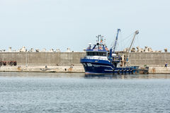Fishing Boats In Port Stock Photography