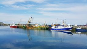 Boats in Howth Royalty Free Stock Photos