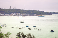 Fishing boats in port Royalty Free Stock Image