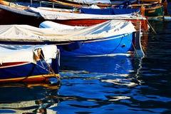 Fishing boats in Portofino Royalty Free Stock Photography