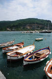 Fishing boats, Portovenere, Italy Royalty Free Stock Photo