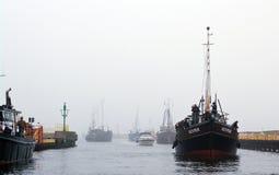 Free Fishing Boats Return Royalty Free Stock Photo - 21402535
