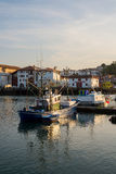 Fishing boats in Saint-Jean de Luz harbour. Aquitaine, France. Royalty Free Stock Photography