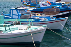 Fishing boats on Samos Royalty Free Stock Image