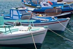 Fishing boats on Samos Royalty Free Stock Image