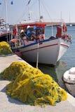 Fishing boats on Samos Royalty Free Stock Photography