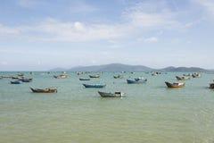 Fishing boats at sea Royalty Free Stock Photography