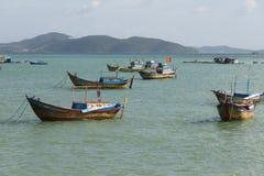 Fishing boats at sea Royalty Free Stock Image