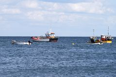 Fishing Boats at Selsey. Sussex. UK Royalty Free Stock Images