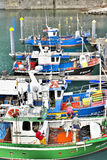 Fishing boats, Spain Stock Images