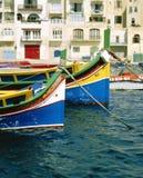 Fishing Boats ,Spinola Bay. stock photos