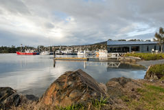 Fishing boats in St Georges Bay Stock Photography