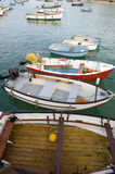 Fishing boats at st ives Stock Image