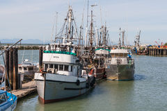 Fishing Boats in Steveston Royalty Free Stock Photography