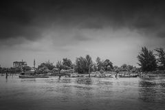 Fishing boats at Tanjung Lumpur Stock Photography