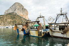 Fishing boats - trawlers Royalty Free Stock Image