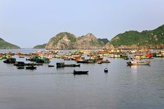 Fishing boats, Vietnam Royalty Free Stock Image
