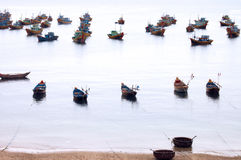 Fishing boats, Vietnam Royalty Free Stock Photo