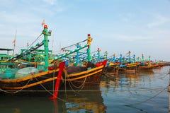 Fishing boats Vietnam Royalty Free Stock Photos
