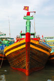 Fishing boats Vietnam Stock Images