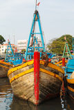 Fishing boats Vietnam Royalty Free Stock Images