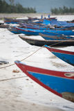 Fishing Boats Vietnam royalty free stock photo