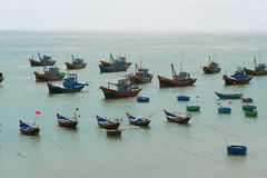 Fishing boats, Vietnam Stock Photos