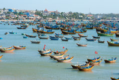 Fishing boats, Vietnam Stock Photo