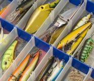 Fishing box Royalty Free Stock Image