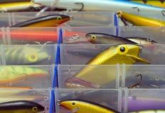 Fishing box Stock Images
